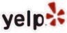 Yelp logo linked to review page